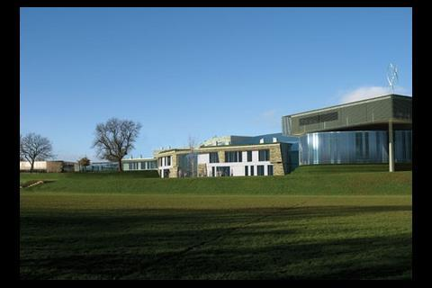This design for a secondary school in Richmond, North Yorkshire has been described by Building Schools for the Future as a model of sustainability. Designed by Atkins, it consists of new buildings, and an upgrade to two existing ones